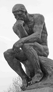 rodin le penseur - as a student in Paris, I visited the Rodin museum. this was the first work of art I saw outside. I thought it was so beautiful, it brought me to tears and made me realize - for the first time- how inspiring art can be!!!