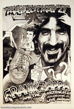 Frank Zappa & Mothers - 1975 05 20 & 21 concert 'Armadillo World Headquarters', Austin, TX, usa