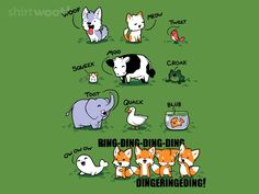 This Is What The Foxes Say