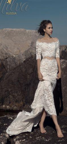 Milva Bridal Wedding Dresses 2017 Malibu / http://www.deerpearlflowers.com/milva-wedding-dresses/11/