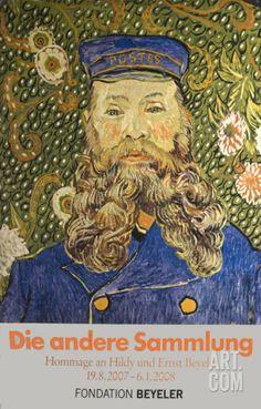 Le Facteur Roulin-billboard Art Print by Vincent van Gogh at Art.co.uk