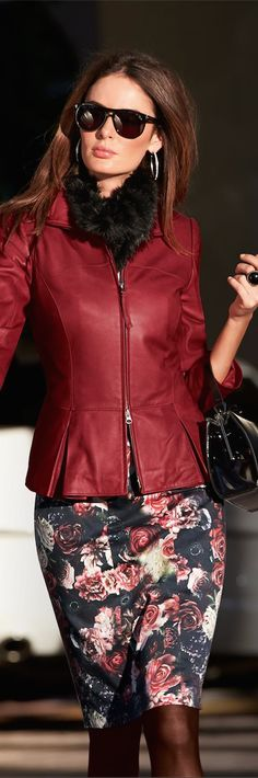 Madeleine Fall 2014 ● Madeleine Leather Jacket
