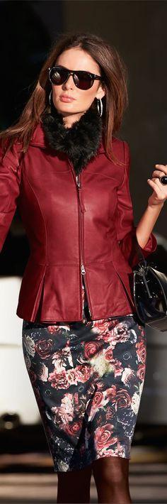 Madeleine Fall 2014 ● Madeleine Leather Jacket