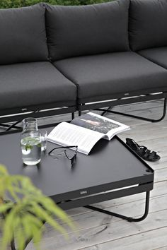 SPONSORED POST Dear reader, let me introduce you to ygg&lyng! A Norwegian furniture company that you might not have heard of yet but that d. Outdoor Coffee Tables, Outdoor Dining, Outdoor Sofa, Outdoor Balcony, Outdoor Areas, Modern Outdoor Furniture, Contemporary Garden, Fire Pit Furniture, Garden Accessories