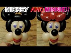 #5 Mickey or Minnie Mouse Balloon Hat Tutorial - YouTube