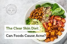 The clear skin diet: can foods cause acne? Diet Menu, Food Menu, Healthy Recipe Videos, Healthy Recipes, Clear Skin Diet, Vegetarian Options, Health Breakfast, Healthy Living Tips, Nutritional Supplements
