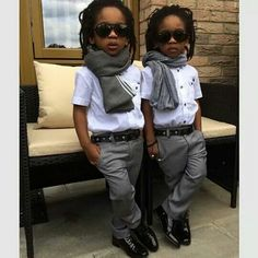 These Stylish Twins Boys Dress Better Than You Little Boy Fashion, Kids Fashion Boy, Trendy Kids, Stylish Kids, Fashionable Kids, Swag Outfits, Boy Outfits, King Fashion, Men's Fashion