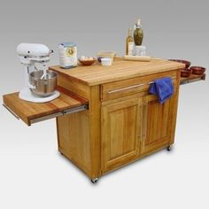 Easy On The Eye Rolling Kitchen Cart: Simple Kitchen Island Cart For Small Kitchen Design Ideas. Kitchen Cart With Storage, Granite. Kitchen Island On Casters, Kitchen Island Cart, Kitchen Trolley, Kitchen Islands, Kitchen Cabinets, Kitchen Island On Wheels With Seating, Blue Cabinets, Shaker Cabinets, Wood Cabinets