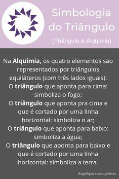 Triângulo e Alquimia Cbr, Book Of Shadows, Witchcraft, Tarot, Astrology, Mindfulness, Positivity, Symbols, Triangle Symbol