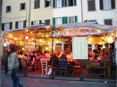 Trattoria ZaZa. Florence, Italy.