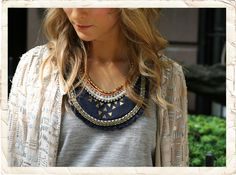 Lucy Laucht - Bib Necklace/Collar