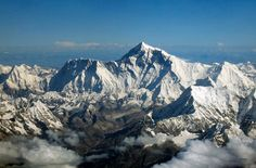 Part of the Himalayan mountain range along the border of Nepal and Tibet, Mount Everest marks the highest point on earth at 29,035 feet.