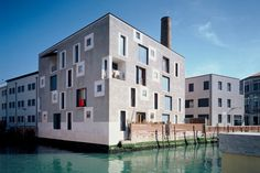 Cino Zucchi, D residential building, ex Junghans area