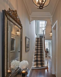 "2,349 Likes, 65 Comments - Sophie Paterson (@sophiepatersoninteriors) on Instagram: ""Entrance hall to the Chelsea townhouse with gorgeous @jamb_london chandeliers #Chelsea #london…"""