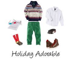 Holiday fashion for boys