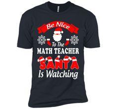 Funny Christmas Gift For Math Teacher Shirt T-Shirt
