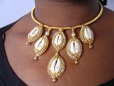 Nubian Queen Neckpiece