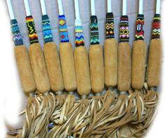 native american powwow drum stick