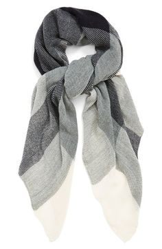 Plaid Scarf (Online Only) available at All Fashion, French Fashion, Paris Fashion, Simple Outfits, Cool Outfits, Tartan Plaid Scarf, Cozy Scarf, Autumn Winter Fashion, Winter Style