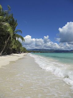 Boracay Island, Philippines. The one place in the whole world that I want to visit just for the beach.