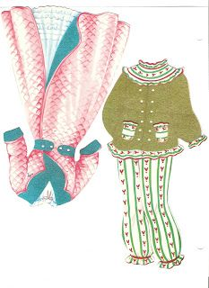 Miss Missy Paper Dolls: Polly Molly and Their Dolls 1958 - another doll and loads of clothes on this blog