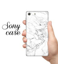 White OPAL, Sony M4 CASE, sony M5 case, xperia Z5, sony xperia Z4, marble case, sony c5 case, marble sony case, sony Z5 case, xperia Z3 case
