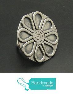 Sterling silver ring solid 925 Flower adjustable size R000764 Empress from Empress Silver https://www.amazon.co.uk/dp/B071JYCVRM/ref=hnd_sw_r_pi_dp_mKNozbNMSJJGF #handmadeatamazon