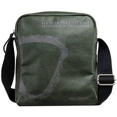 Strellson Paddington Shoulderbag Umhängetasche SV, dark green* - http://herrentaschenkaufen.de/strellson/dark-green-strellson-paddington-shoulderbag-sv-b