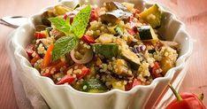 Quinoa Salad Vegetables Vegetarian Food Stock Photo (Edit Now) 106865942 Roasted Vegetable Salad, Roasted Vegetables, Real Food Recipes, Vegetarian Recipes, Healthy Recipes, Easy Shrimp Scampi, Chicken Parmigiana, Cereal, Zucchini Pasta