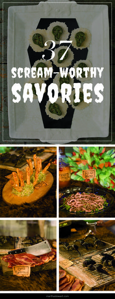 Scream-Worthy Savories | Martha Stewart Living