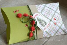 Nostalgische Weihnachten - Pillow Box #3 und #4