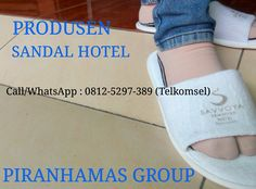 Piranha mas group menyediakan berbagai perlengkapan hotel dengan berbagai macam pilihan sandal untuk kebutuhan hotel atau penginapan serta untuk souvenir dengan kualitas dan harga bersaing.  Hubungi : Costumer Service Representatif : (Call / SMS / WhatsApp) : 081.753.7895 / 081.2529.7389 (Simpati) Telp Kantor : 0341 - 547.5454  Email : Silvi_eko@yahoo.co.id http://www.piranhamasgroup.com/  Alamat : JL. Piranha Atas V / 01, Tunjung Sekar, Malang JL. Piranha Atas V / 01, Tunjung Sekar,