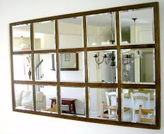 Mirror Decoration You Will Love. Mirror Decoration You Will Love. In interior design, a mirror can be something that has magical power. The mirror can brighten a room that feels dark,. Diy Design, Layout Design, Interior Design, Wood Framed Mirror, Diy Mirror, Mirror Ideas, Hallway Mirror, Mirror Hanging, Home Decor