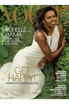 Michelle Obama looks AMAZING in her 3rd Vogue spread...