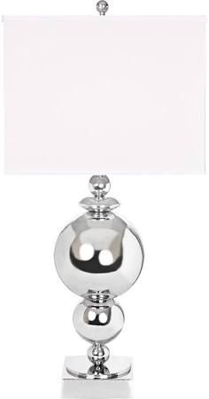 chrome globe table lamp - Google Search