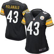 Nike Troy Polamalu Pittsburgh Steelers Womens The Limited Jersey - Black