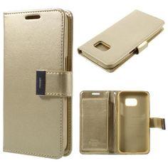 Köp Mercury Rich Diary Case Samsung Galaxy S7 guld online: http://www.phonelife.se/mercury-rich-diary-case-samsung-galaxy-s7-guld