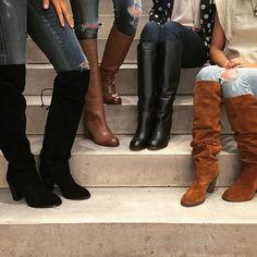 Miss Albright Fulton Knee Boots #Anthropologie #MyAnthroPhoto