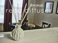 Our Homemade Happiness: essential oils reed diffuser with water