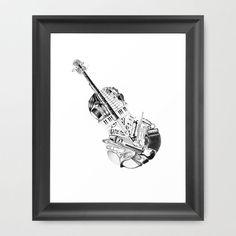 Orchestra Art Print | dotandbo.com