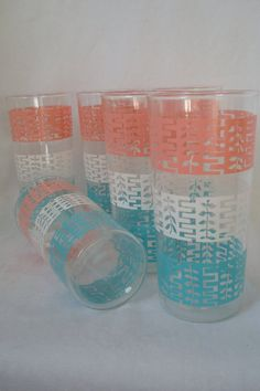Atomic Glassware // 1950s Glasses //