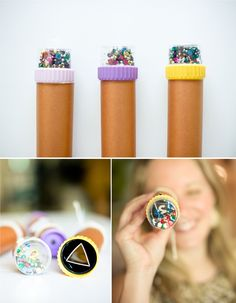 A new use for kaleidoscopes celebrate diy kaleidoscope, diy Diy And Crafts Sewing, Crafts To Sell, Golden Doodle, Diy Kaleidoscope, Wedding Crafts, Wedding Fun, Video Games For Kids, Dinner Recipes For Kids, Cookies Et Biscuits