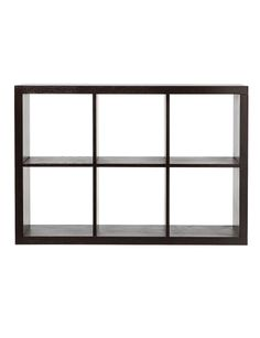 Preston 6 Cube Shelving Unit product photo