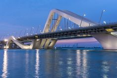 Sheikh Zayed Bridge (Abu Dhabi, United Arab Emirates)
