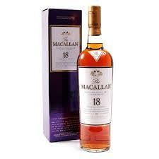 Macallan Sherry Oak 18 Year Old Whisky for sale in our online liquor store. Buy The Macallan Sherry Oak 18 Year Old Whisky online today Macallan Whisky, Unusual Gifts For Men, Hooch, Scotch Whiskey, Wine And Spirits, Distillery, Whiskey Bottle, Liquor, Alcoholic Drinks