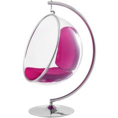 Bubble Chair In Pink