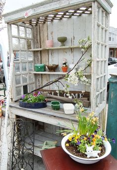 .Potting station