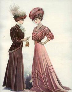 Edwardian ladies