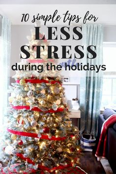 Great tips for stress relief during the holidays - things can get chaotic and really challenging this time of year, but that doesn't mean you can't find time to relax! There are some great ideas here for fully enjoying the holiday season!
