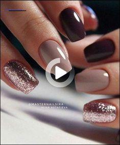 59 Beautiful Nail Art Design To Try This Season - long coffin nails glitter nails mixmatched nail art nail colors marble nail art nail polis nude nails Nail Color Combos, Cute Nail Colors, Fall Nail Colors, Winter Colors, Bright Colors, Color Combinations, Trendy Nails, Cute Nails, My Nails